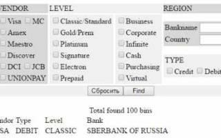 Как узнать регион карты сбербанка по номеру